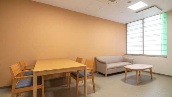 手術待合室 写真