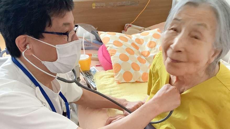 訪問診療の様子 写真